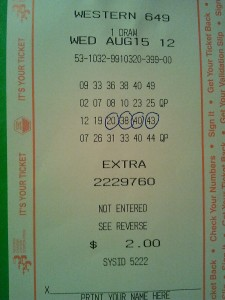 Win Lotto 6/49